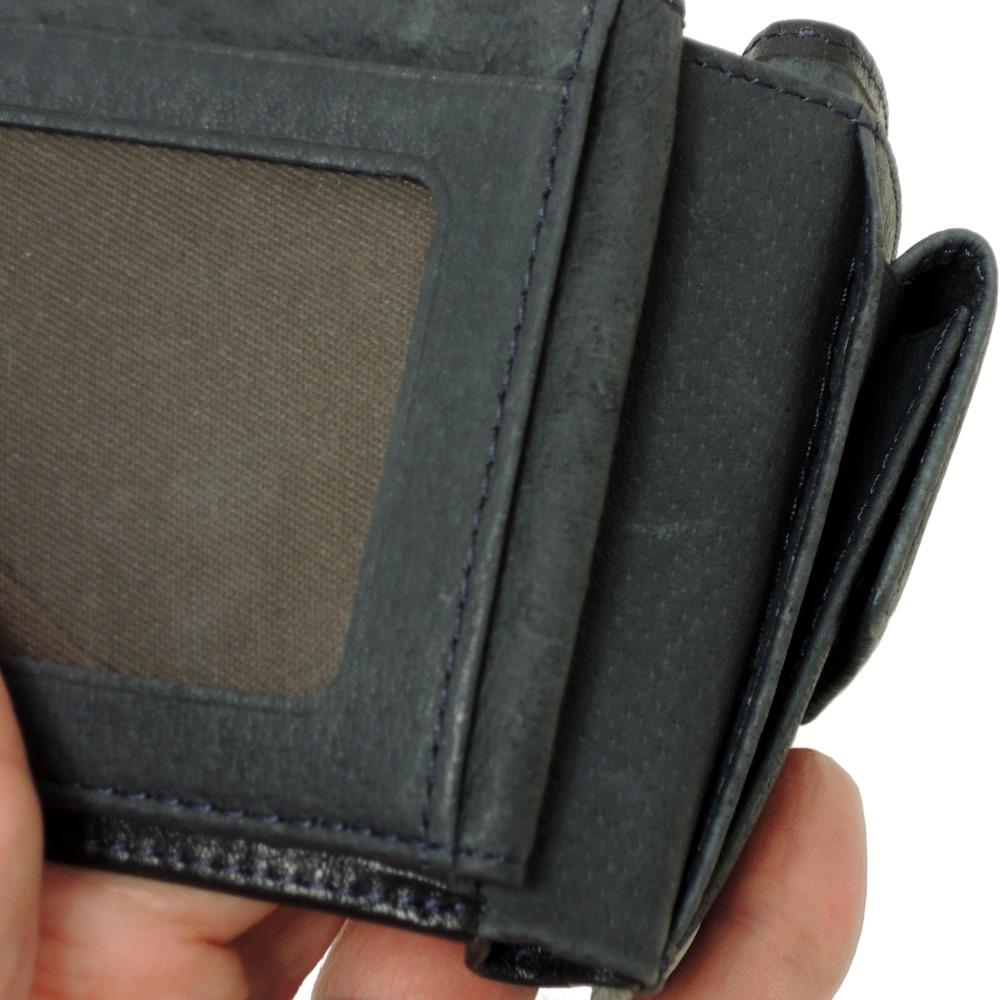 リー Lee 財布 二つ折り パスケース・小銭入れ付き メンズ 本革 0520314