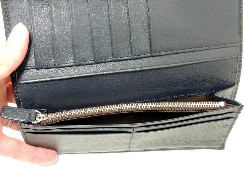 リー Lee 長財布 二つ折りかぶせタイプ メンズ 本革 0520316
