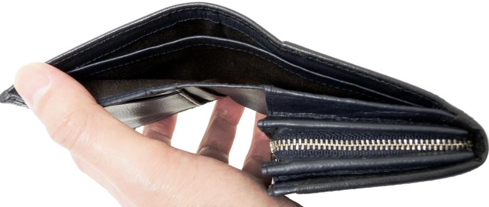 リー Lee 財布 二つ折り Lファスナー小銭入れ付 メンズ 本革 0520317