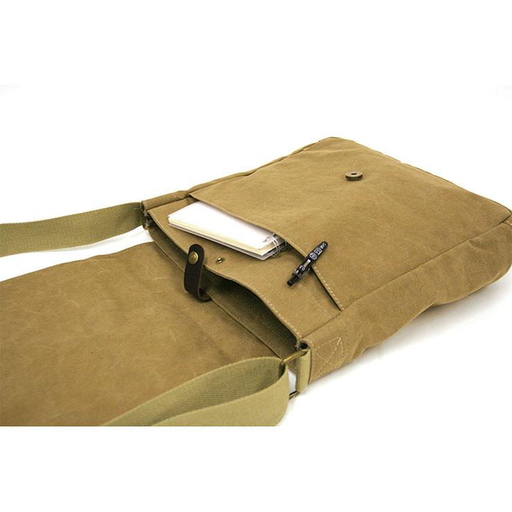 ショルダーバッグ 帆布工房 フラップショルダー Flap shoulderシリーズ 3X57 帆布 A4 キャンバス 生地