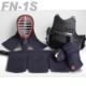 剣道防具セット FN-1S  Mサイズ・Lサイズ (6ミリ斜め刺)