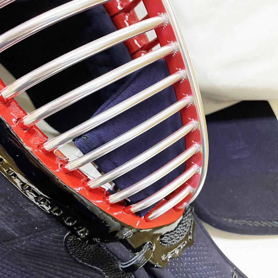 飛沫吸収カバー(白・紺ジャージ) シールド(剣道マスク・剣道マスクAir)専用 ※意匠登録済