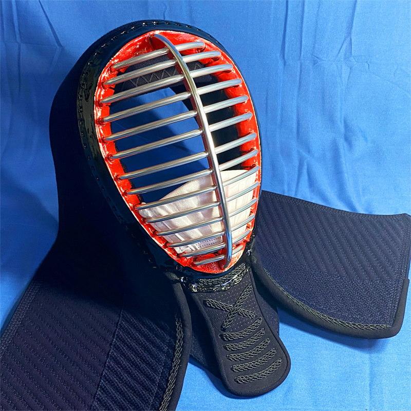 穴あきシールド: 剣道マスクAirは通気性良好!苦しさ軽減!市販不織布マスクも装着OK