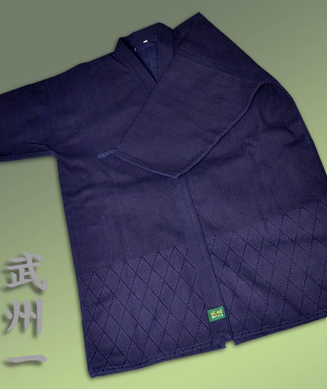剣道着 武州一 #120 藍染一重 <高級・日本製>