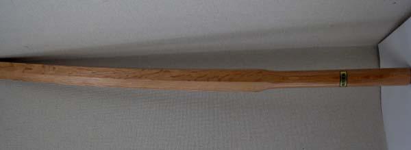 素振り用木刀  櫂形(カイガタ) 3,5尺、3.8尺