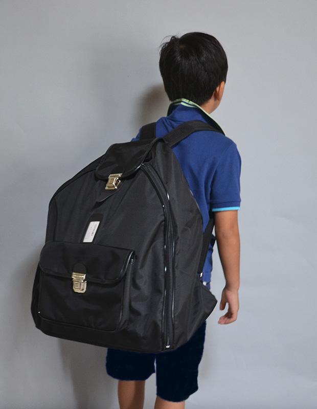 防具袋 少年用 ボストン リュック式 ファッションナイロンカラー
