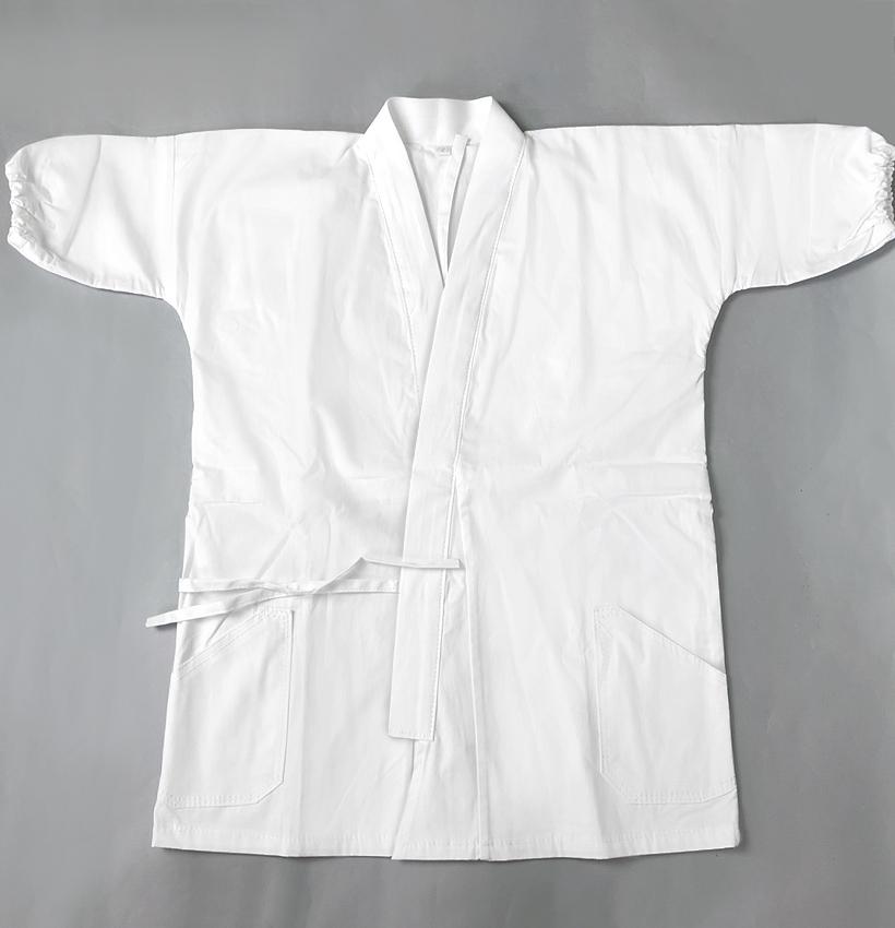 薙刀衣 - なぎなた衣 1号〜5号 (袖口のゴムは簡単に取り外せます)