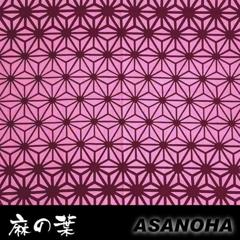 手拭い 日本伝統模様手ぬぐい 鬼滅の刃風のデザインが人気! 大人も面下として使える100cmサイズです