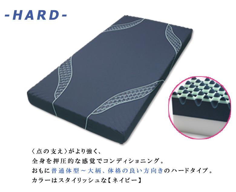 西川 エアー AiR  三層特殊立体ベッドマットレス  コンディショニングマットレス (ハードタイプ) シングル
