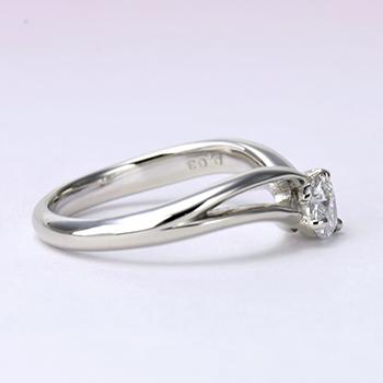 ★特別価格★婚約指輪  高品質ハート型ダイヤモンドとピンクダイヤを使った高級リング Pt900 0.301ct Dカラー