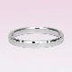 【Zeus ゼウス 】【鍛造】 驚異的な丈夫さとオシャレな雰囲気を併せ持った結婚指輪のペア  槌目仕上げ