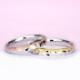 結婚指輪ペア【スーパーハードプラチナ】【 ツーウェイ】プラチナとゴールドのコンビ。プラチナ単色としても使えます。MpTAM-257-258-SH