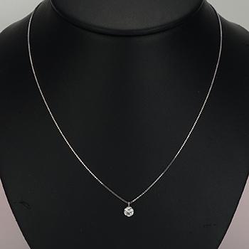 [高品質]最高のカラーとカット ダイヤモンドペンダント プラチナ 0.30,D,SI2,3EX,HC PND6-Pt-30DH1