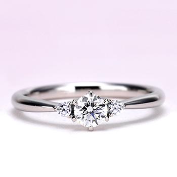 ★高級!特別価格★【婚約指輪】0.30ct,D,VVS1,3EX,H&C, H&Cメレダイヤを使用 EG22X73h