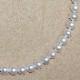 真珠ネックレス+イヤリング(ピアス)セット8.0〜8.5mm