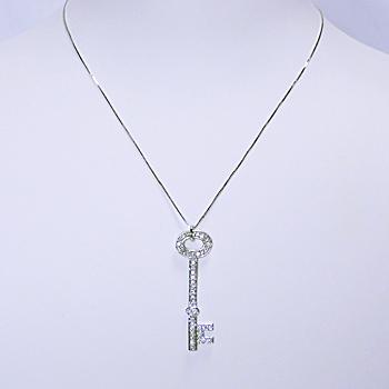 鍵型ダイヤモンドペンダント PEN-14