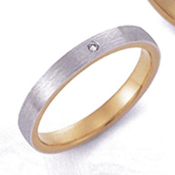 【アンブラッセ】EmbrasseR purest EBP-5  純金と純プラチナ、鍛造の超高級リング