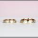 【 杢目金:もくめがね 】結婚指輪ペア  世界に1つのだけの結婚指輪  日本独自の伝統工芸技法で手作り