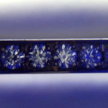 【永遠 Towa 】ハーフエタニティリング  K18PG 最高級カットH&Cダイヤのリング HE-H16p02-hA-PG