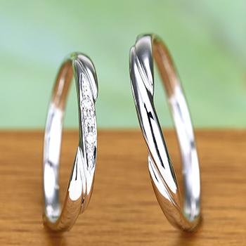 ★ゼクシィ特別価格★結婚指輪ペア  プラチナ製人気のデザインのお手頃なリング  MpTRM075-076-Pt900
