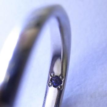 【Harmony】BsSS193Ha04-20GH6  シンプルな婚約指輪と細身の結婚指輪の3点セット