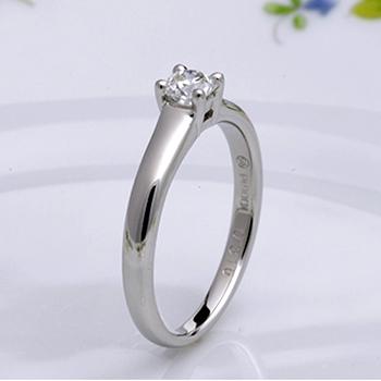 ★特別価格☆【フランダースブリリアントカット】婚約指輪 高級な8角形ダイヤモンドで個性を演出! プラチナ
