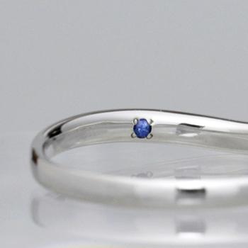 【Harmony 】結婚指輪ペア  天然ピンクダイヤとH&Cカットダイヤを使用した細めで緩やかなカーブの指輪 MpHa01Lp1hM