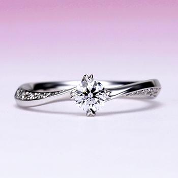 最高の輝き!★★★【Sarine Ultimate スリースター Diamond 】婚約指輪 プラチナ 0.267ct,D,VVS1,3EX,H&C