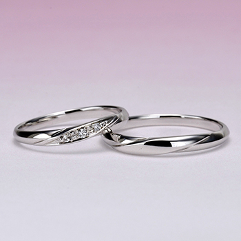結婚指輪ペア  Pt900 人気のストレートデザインで優しい感じのお得なプラチナリング  MpKX6970