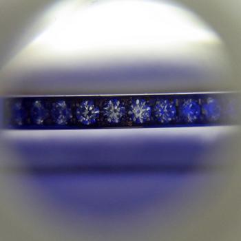 【永遠 Towa 】(高品質)ハーフエタニティーリング  K18PG 最高級カットH&Cダイアのリング HE-H16p02-hAA-PG
