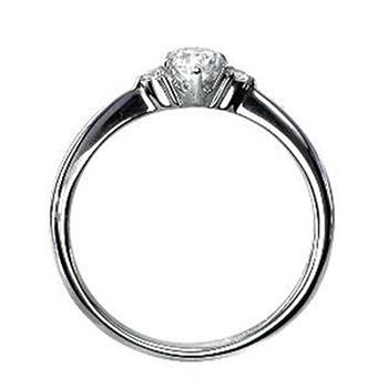 ★最高級品限定特価★0.30ct,D,IF,3EX【GIA鑑定書付】H&Cメレダイヤを使用【最高級婚約指輪】