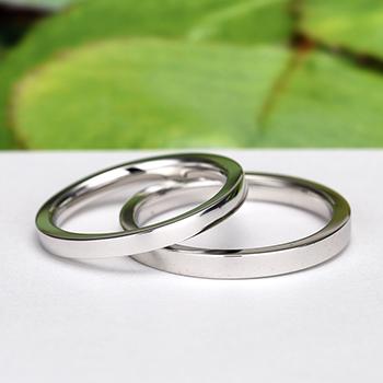 結婚指輪ペア【Harmony Premium3 純粋】Pt950H 純粋で混じりけのない ふたりの愛