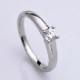【 フランダースブリリアントカット】婚約指輪 高級な8角形ダイヤモンドで個性を演出♪ プラチナ