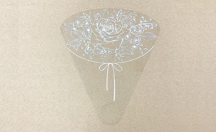 【ブライダルhandy(ハンディ) 】 Aタイプ 結婚式やイベントにオススメです  トークシールド ブライダル 手持ち ハンディシールド 飛沫感染対策商品