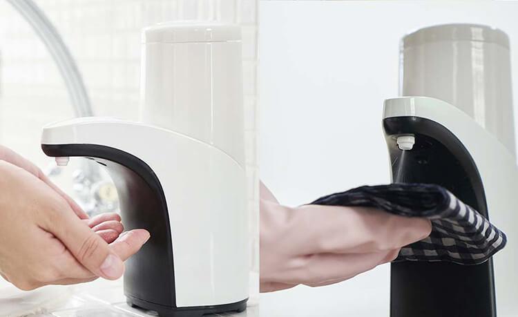 【オートミストディスペンサー】 アルコールディスペンサー 非接触 コードレス 吐出量2段階調整可能 飛沫感染対策商品