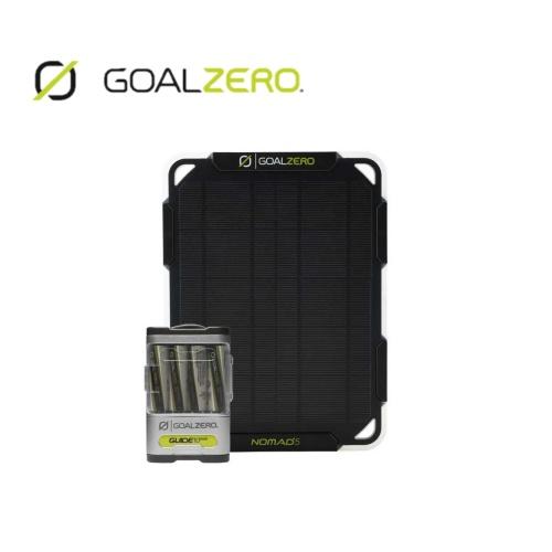 ゴールゼロ GOALZERO NOMAD 5 + GUIDE 10 PLUS SOLAR KIT ソーラーパネルキット