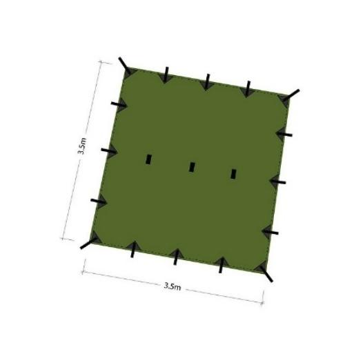 DDハンモック DD Tarp 3.5 x 3.5