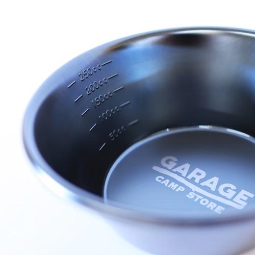 GARAGE CAMP STORE オリジナル ロゴ シェラカップ 300ml ブラック
