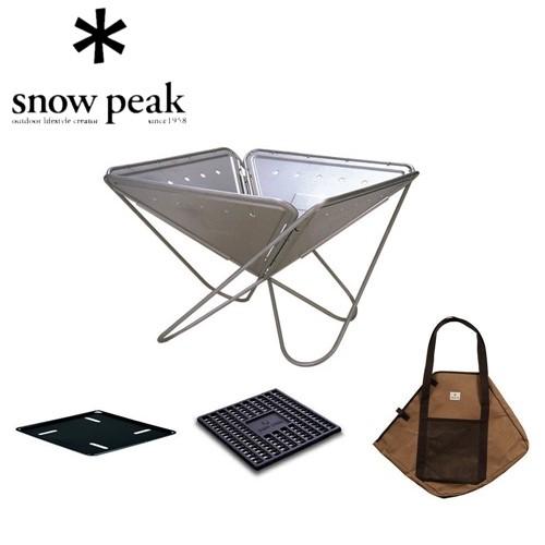スノーピーク snow peak 焚火台Mスターターセット