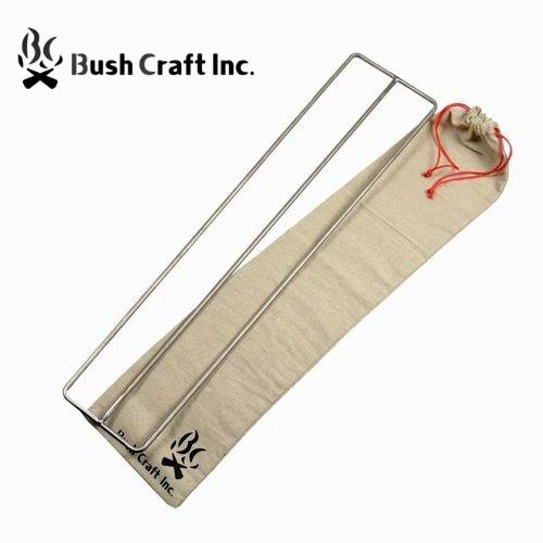 ブッシュクラフト Bush Craft たき火ゴトク L 純チタン中空パイプ