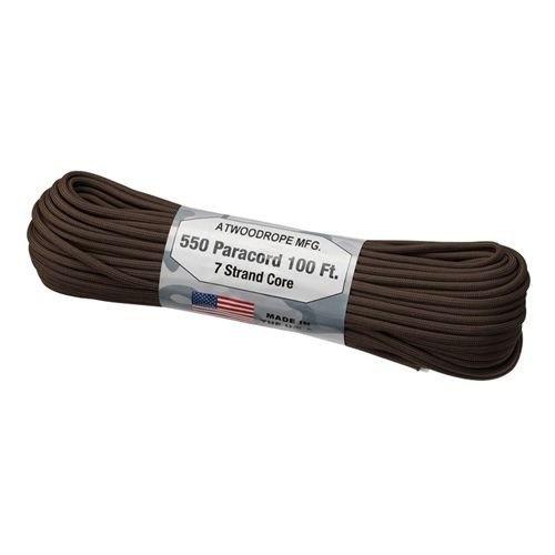 アットウッドロープ ATWOOD ROPE MFG.  パラコード ブラウン