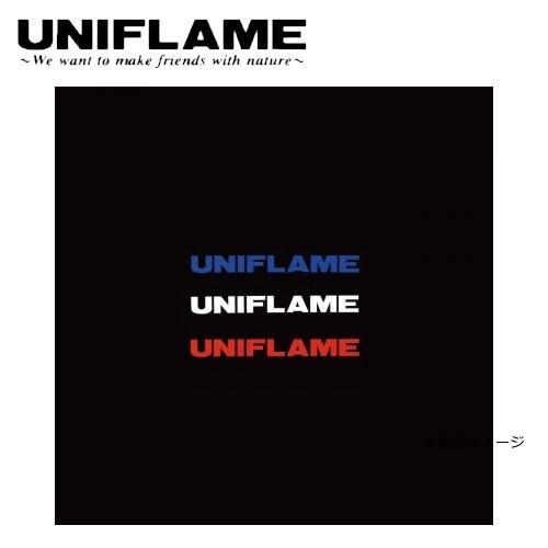 ユニフレーム UNIFLAME UFロゴステッカー小 トリオ