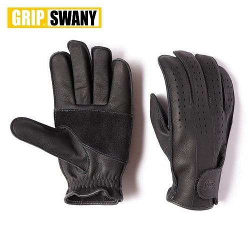 グリップスワニー GRIP SWANY パンチングメッシュモデル ブラック
