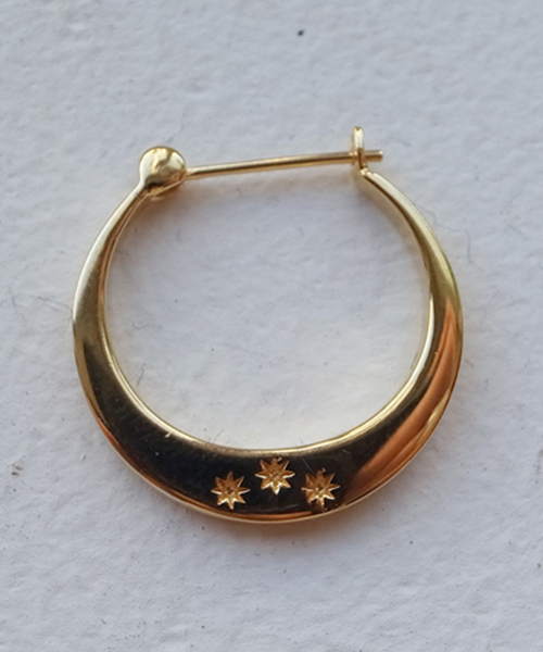 SILVER HOOP PIERCE