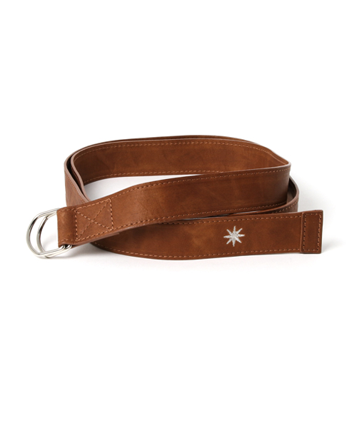 LEATHER RING BELT(C35030)