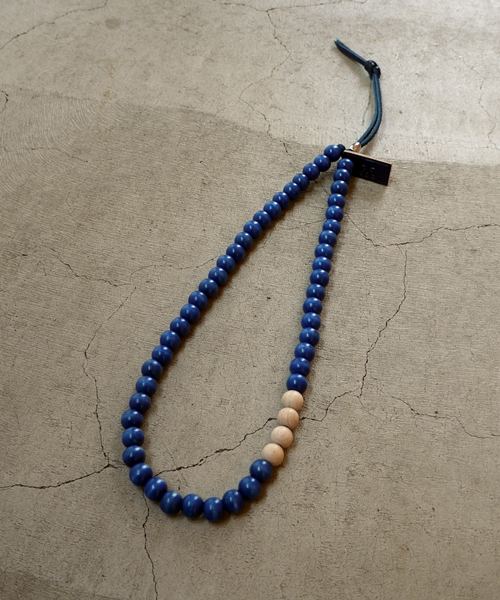 WOOD MIX BEADS NECKLACE