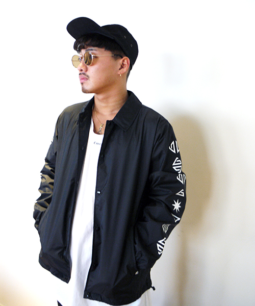 CRYPTOGRAM COACH JACKET
