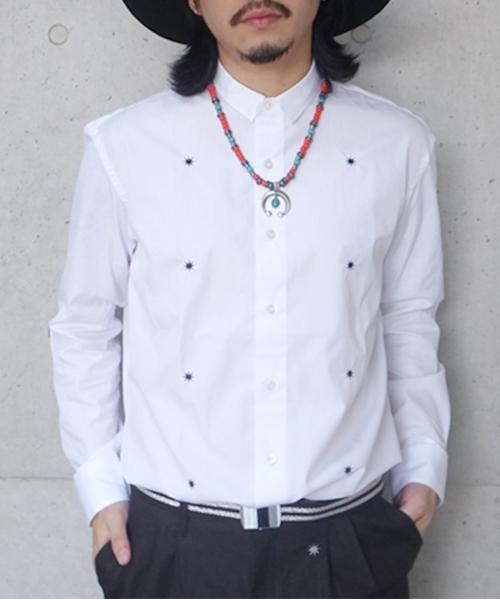 METAL DRESS L/S SHIRT