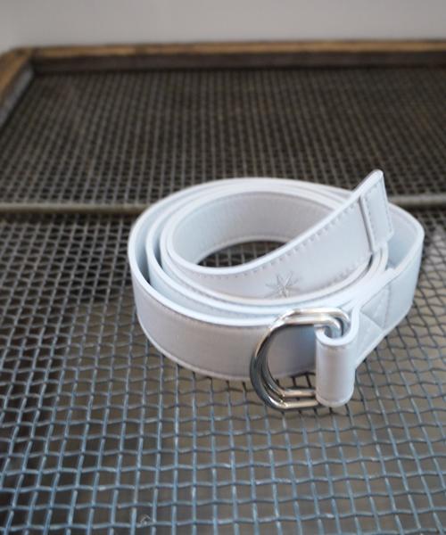 LEATHER RING BELT(C34039)