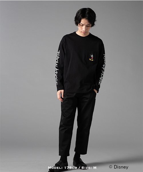 MICKEY MOUSE x GDC LONG SLEEVE tee